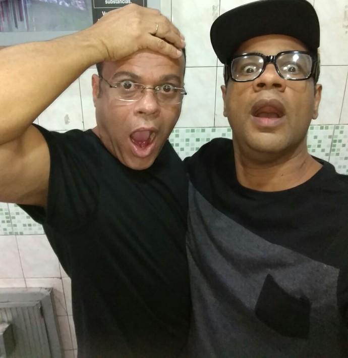 André e Daniel Rolim, do BBB11, são muito amigos   (Foto: Arquivo pessoal )