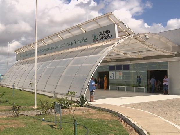 Duas vítimas foram levadas para o Hospital de Trauma de Campina Grande (Foto: Reprodução/TV Paraíba)