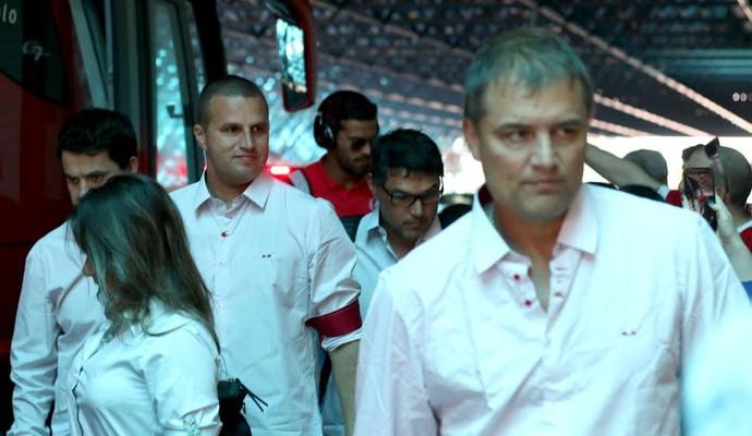 Diego Aguirre aposta em Anderson desde o começo na altitude (Foto: Diego Guichard/GloboEsporte.com)