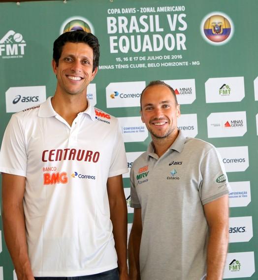 em casa (Orlando Bento/Minas Tênis Clube)