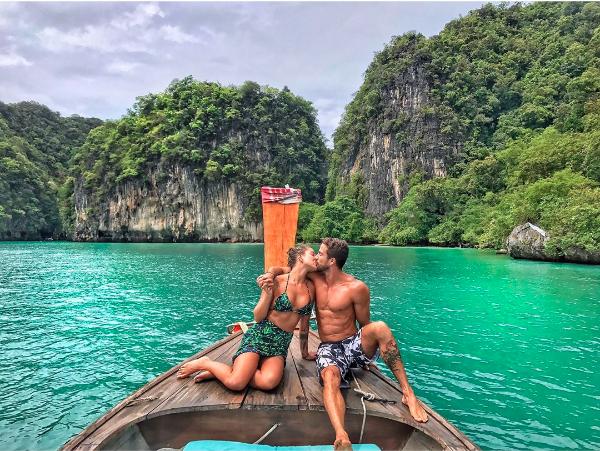 Gabriela Pugliesi na Tailândia (Foto: Reprodução/Instagram)