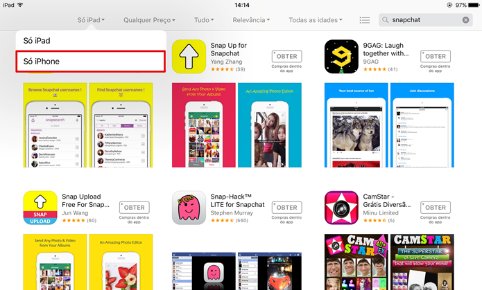 Using tablet Snapchat — Steemit
