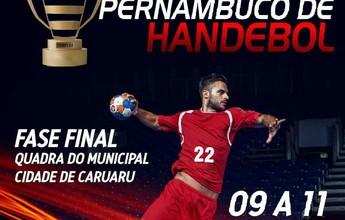 Caruaru recebe fase final da Taça PE de Handebol neste fim de semana