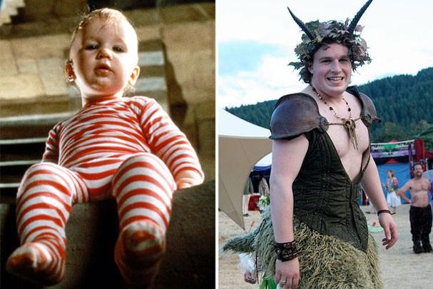 Ontem e hoje: os bebês mais famosos do cinema