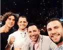 Ochoa, Chicharito e Layún engrossam torcida vip por Canelo em Las Vegas