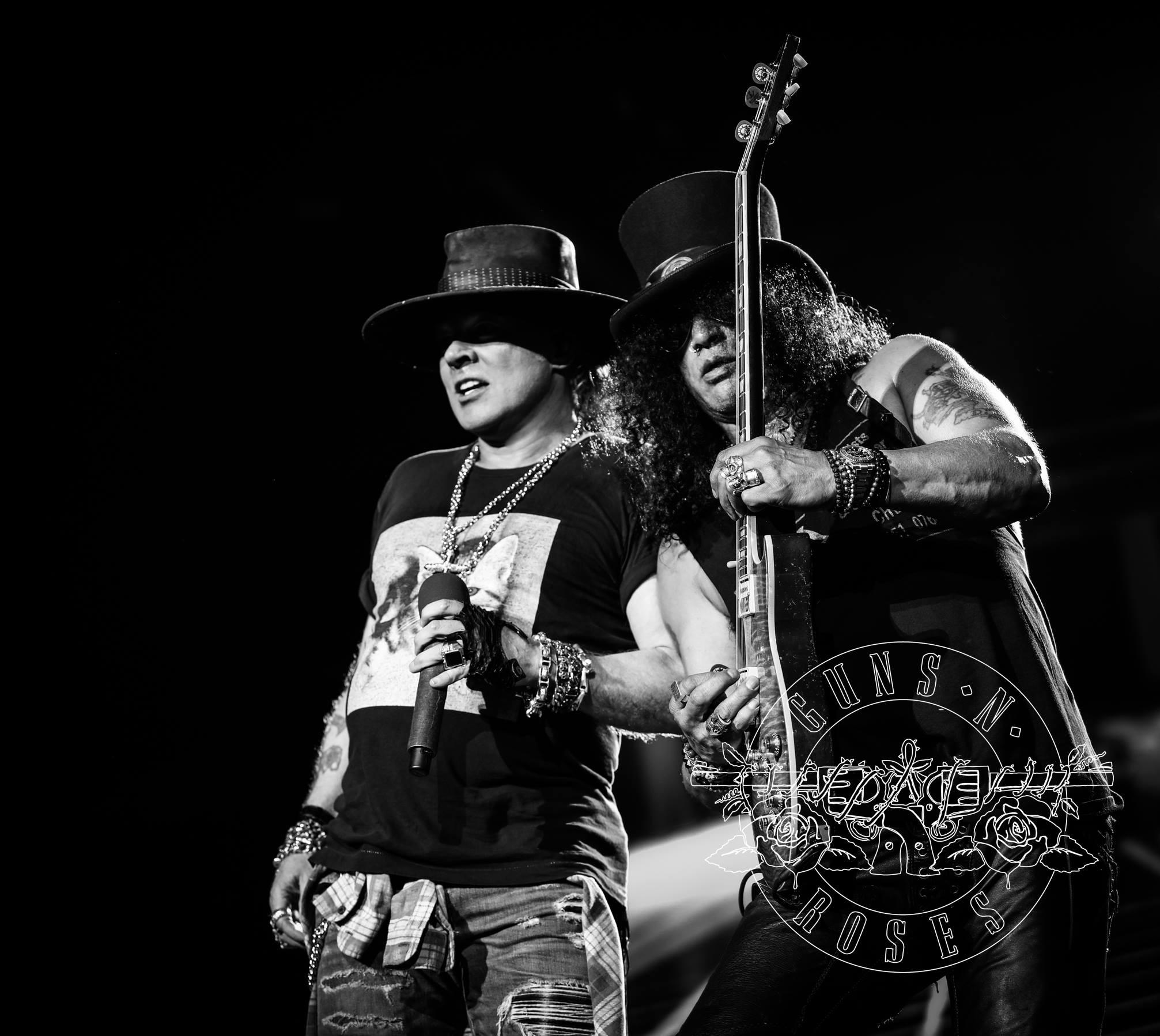 Guns n' Roses  (Foto: Foto: Reproduo/Facebook)