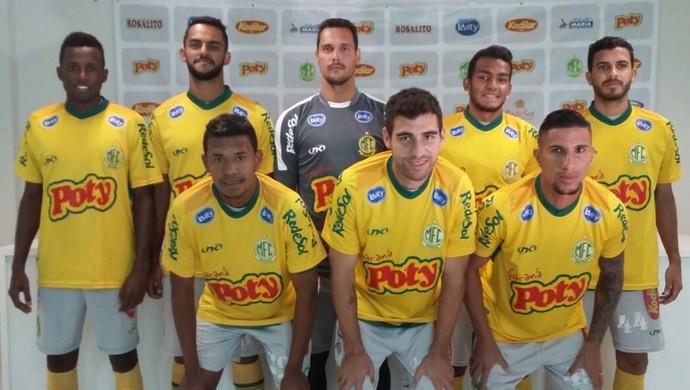 Apresentação de reforços do Mirassol (Foto: Vinícius de Paula / Mirassol FC)