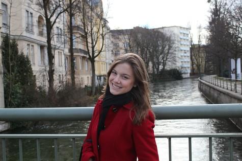 Alice Wegmann em Munique, Alemanha (Foto: Arquivo pessoal)