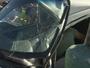 Mulher tem barriga perfurada por vidro após acidente em Fortaleza