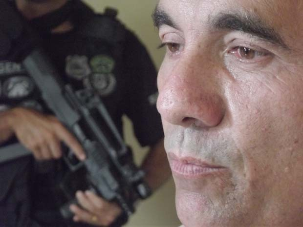 Odelmo Rodrigues - preso pela polícia civil do RN (Foto: Rafael Barbosa/G1 RN)