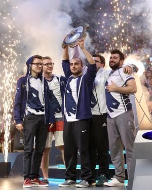 Team Liquid; Mundial; Dota 2 (Foto: Divulgação / Valve)