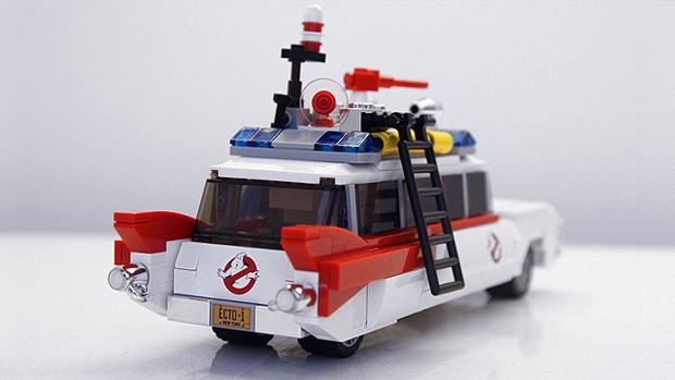Veículo Ecto-1 também será transformado em Lego (Foto: Divulgação/Lego Cuusoo)