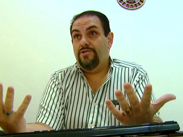 O médico de Itirapina Flávio Ricardo Brasil de Freitas (Foto: Reprodução/ EPTV)