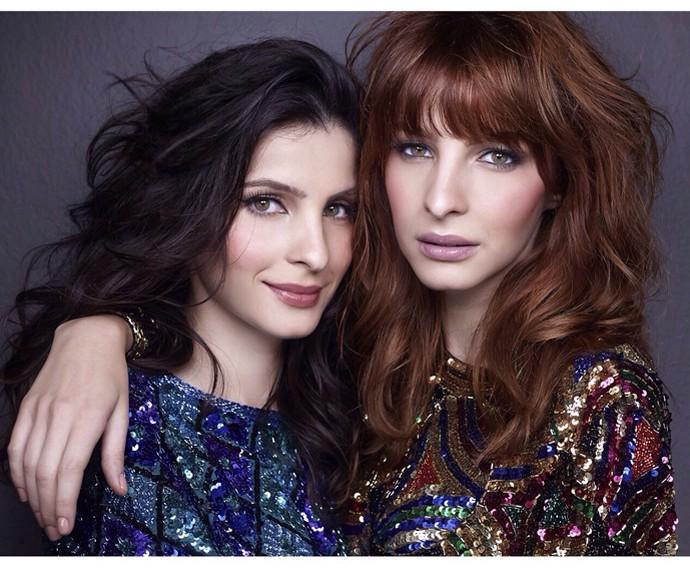Giselle Batista ao lado da irmã, Michelle (Foto: Arquivo pessoal)