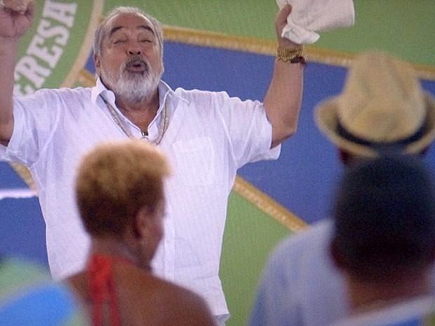 Antoninho anuncia que José Alfredo será tema de concurso de Samba Enredo (Foto: TV Globo)