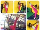 Gracyanne Barbosa mostra elasticidade: 'Relaxar a musculatura'