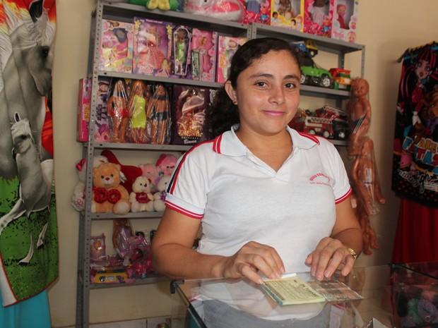Crise econômica valorizou uso de moeda social em São João do Arraial (Foto: Catarina Costa/G1 PI)