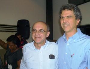 Eduardo Bandeira de Mello e Mario Esteves conselho fiscal Flamengo (Foto: Cahê Mota)