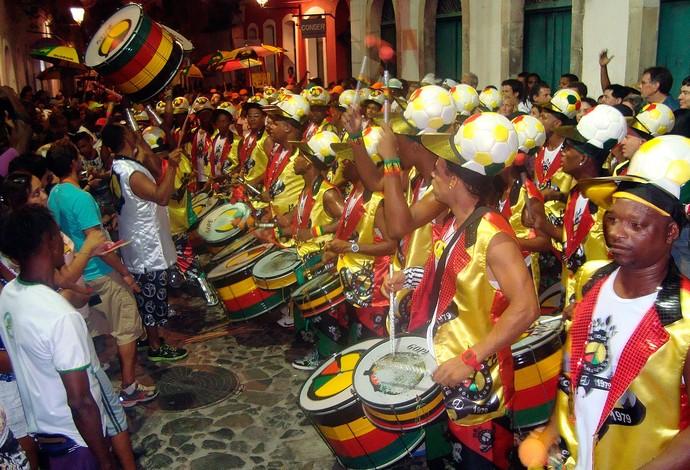 Olodum (Foto: Jairo Gonçalves/G1)