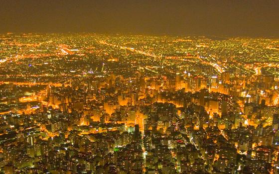 São Paulo,3 maior área metropolitana do mundo (Foto:  Cassio Vasconcellos/SambaPhoto/Getty Images)