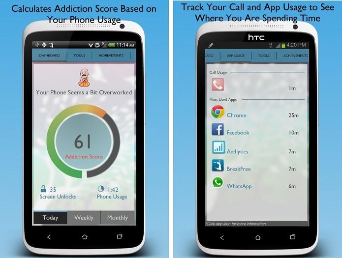 BreakFree é um aplicativo para controlar o vício em celular (Foto: Divulgação/BreakFree)