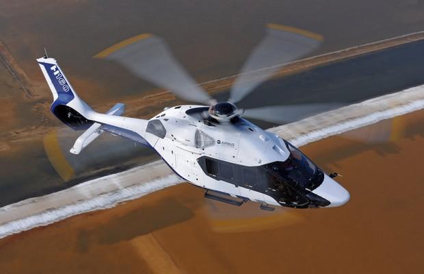 Airbus lança helicóptero H160 com assinatura Peugeot