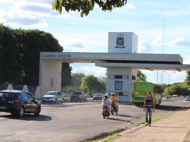 Universidade Federal do Piauí - UFPI (Foto: Fernando Brito/G1)