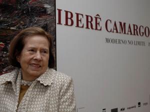 Maria Coussirat Camargo era viúva do artista gaúcho Iberê Camargo (Foto: Mathias Cramer/Divulgação)