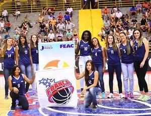 Franca Basquete feminino (Foto: Divulgação)
