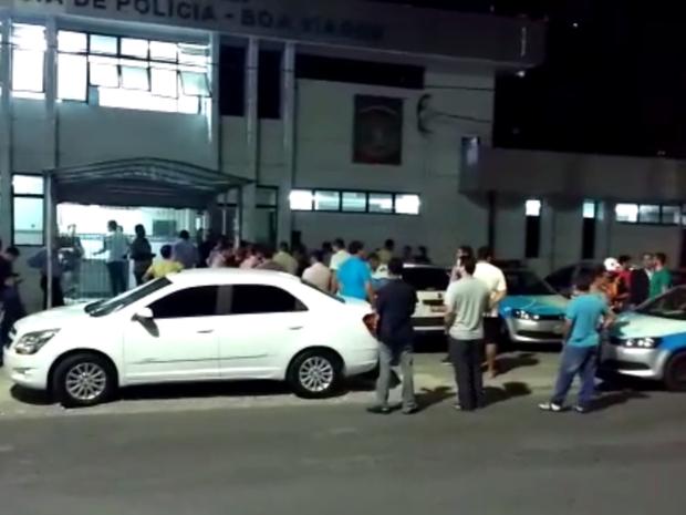 Confusão com colaboradores do Uber foi parar na Delegacia de Boa Viagem (Foto: Divulgação)