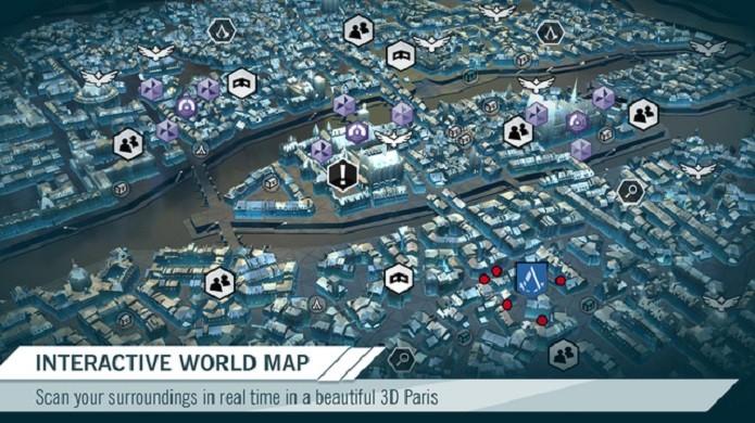 Destrave as diferentes sessões do mapa para ganhar acesso aos quebra-cabeças (Foto: divulgação)