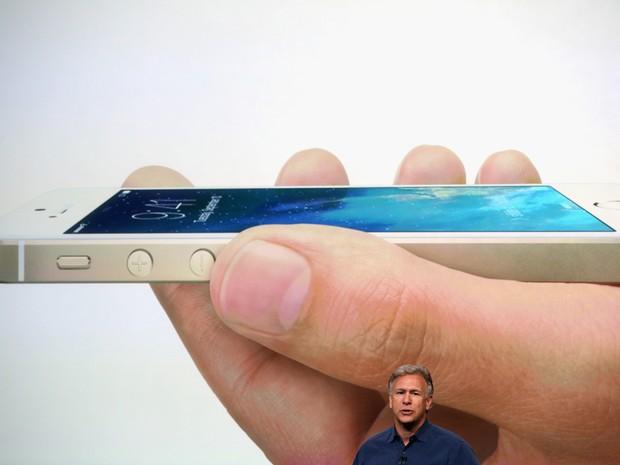 Phill Schiller apresenta o iPhone 5S (Foto: Getty Images)