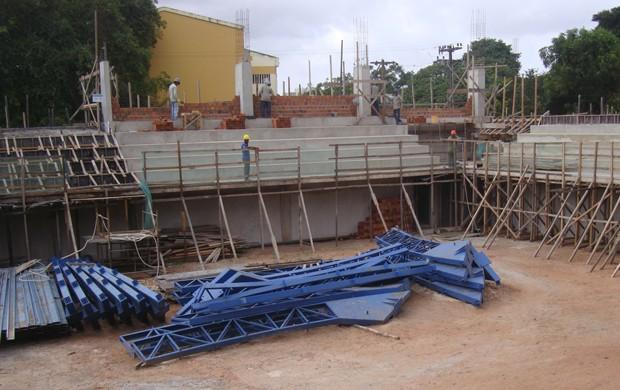 Um novo Costa Rodrigues está sendo construído para os esportistas maranhenses (Foto: Zeca Soares)