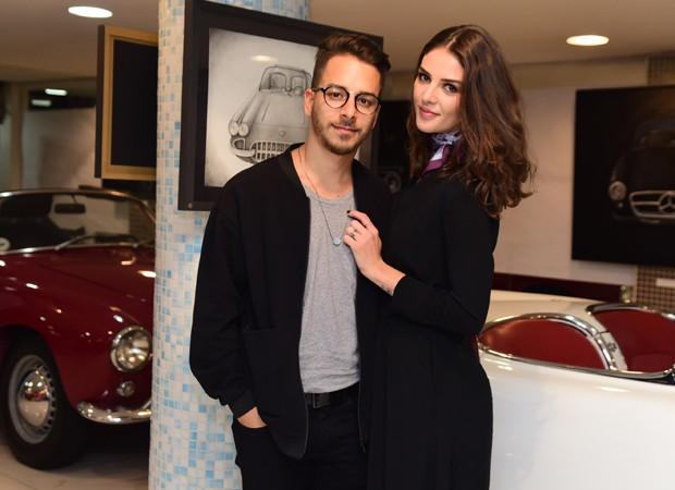 Junior Lima e a mulher, Monica Benini (Foto: Leo Franco/AgNews)