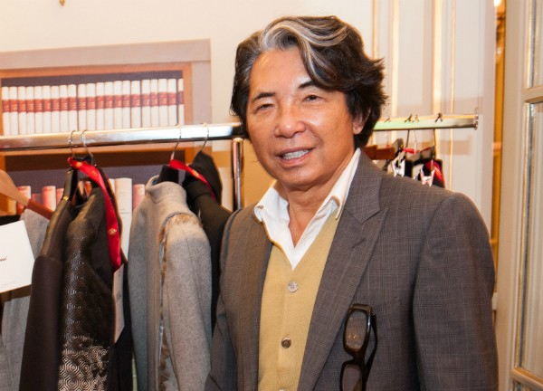 O estilista Kenzo Takada (Foto: Getty Images)