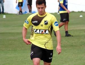 Ronaldo Mendes meia do ABC (Foto: Carlos Arthur da Cruz/GloboEsporte.com)