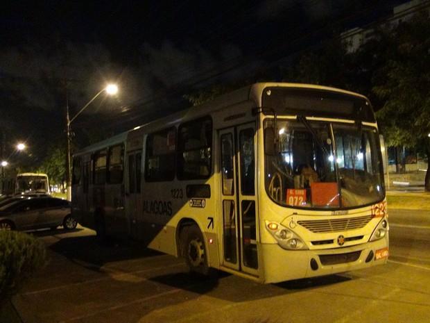 ônibus 1223 (Foto: Vitória de Alencar)