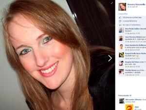 Renata Pase Ravanello sobrevivente Kiss (Foto: Reprodução/Facebook)