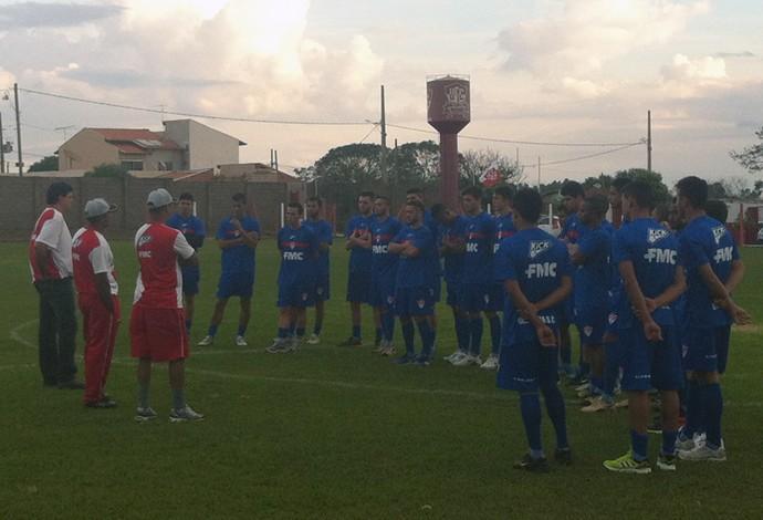 Uberaba Sport treinamento 2015 Segundona Mineiro (Foto: Alex Rocha)