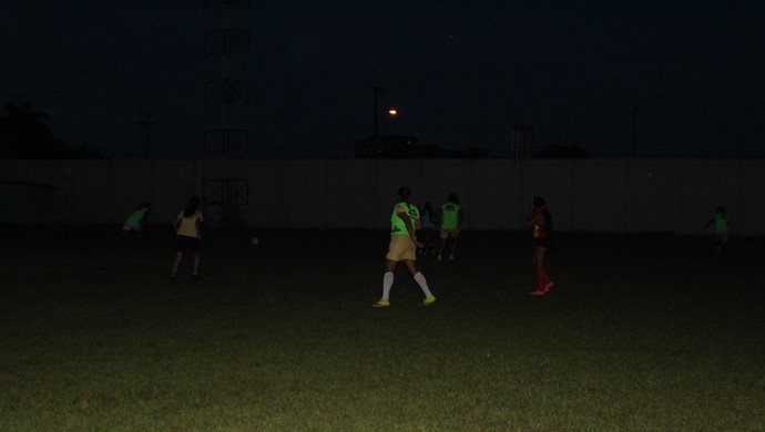 Genus feminino treino (Foto: Ivanete Damasceno)