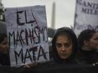 Protestos em toda a América Latina pedem fim da violência contra mulher