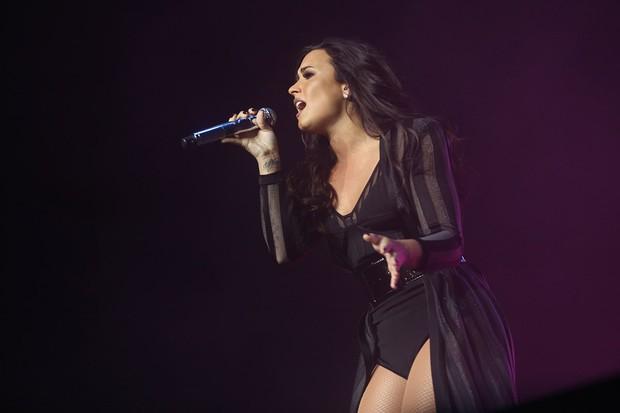 Demi Lovato (Foto: Iwi Onodera / BrazilNews)
