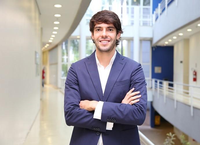 Kaká foi eleito o jogador mais bem pago das Américas (Foto: Carol Caminha/Gshow)