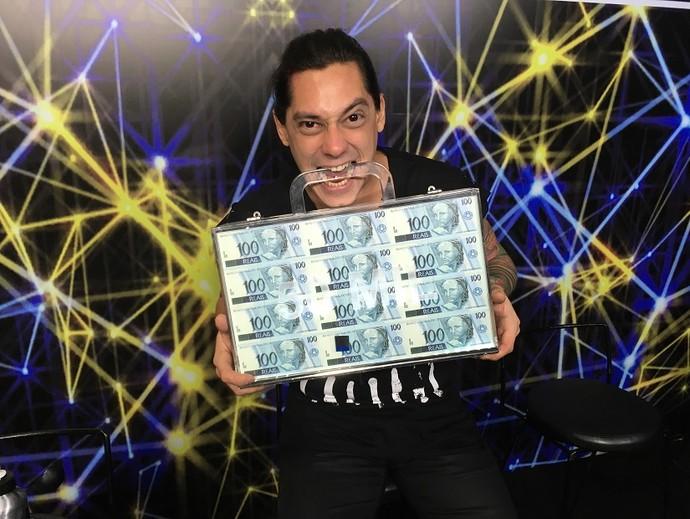 Chandy Dias levou para Salvador R$ 50 mil (Foto: Aline Nunes/Gshow)