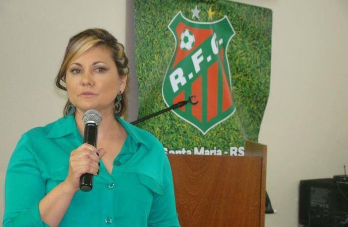 lisete riograndense futebol rs gauchão divisão de acesso presidente (Foto: Divulgação)