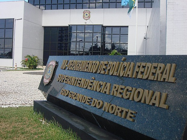 Cearense está custodiado na superintendência da PF em Natal (Foto: Divulgação/Polícia Federal)
