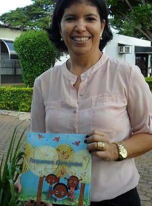 Representante da Comissão Distrital Judiciária de Adoção, Thaís Corrêa (Foto: Raquel Morais/G1)