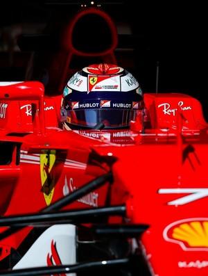 Kimi Raikkonen Pré-temporada f1 ferrari