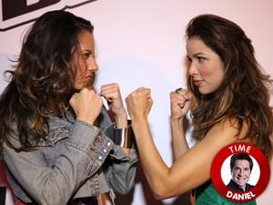 Luana e Liah Batalham no The Voice Brasil (Foto: The Voice Brasil/TV Globo)
