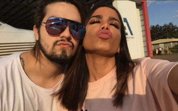 Luan Santana e Anitta (Foto: Reprodução)